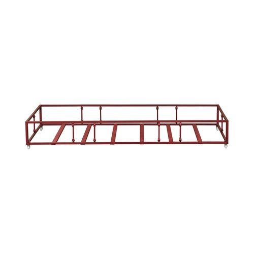 Liberty Furniture Industries - Twin Metal Trundle - Red