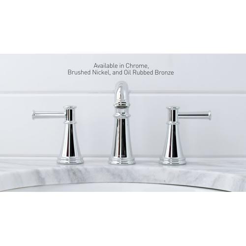 Moen - Belfield Chrome two-handle high arc bathroom faucet