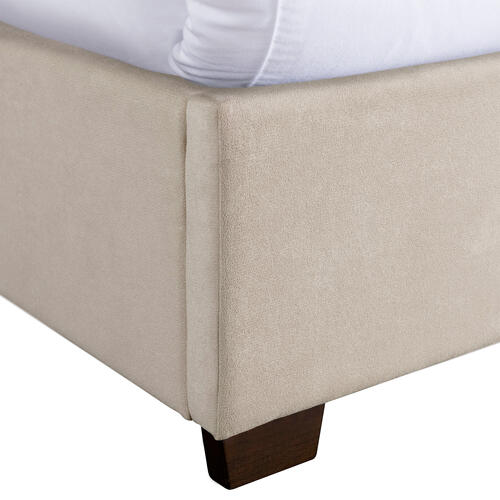 Harper Queen Bed Boulder Sand