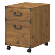 Ironworks 2 Drawer Mobile File Cabinet