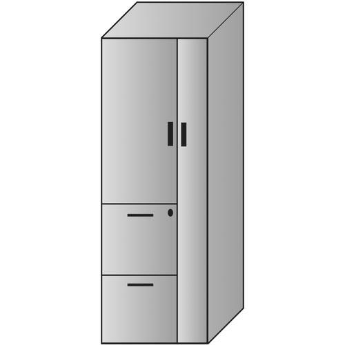 Napa Storage Cabinet 24x24x65h