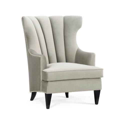 Fluted Back Occasional Chair