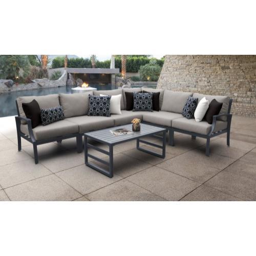 Tk Classics - Lexington 7 Piece Patio Furniture Set