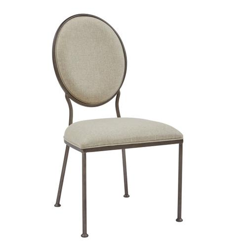 Oval Back Dining Side Chair