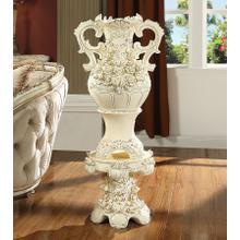 1132 Ceramic Vase & Pedestal