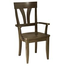 View Product - Model 56 Arm Chair Wood Seat