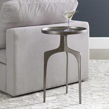 Kenna Accent Table Nickel