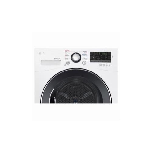 LG - 4.2 cu.ft. Compact Electric Condensing Front Load Dryer