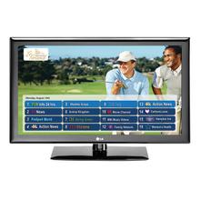 "55"" class (55.0"" measured diagonally) Pro:Centric LCD Widescreen HDTV with Applications Platform"