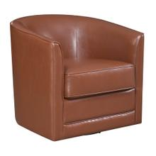 Emerald Home Milo U5029c-04-75a Swivel Chair - Brown Bonded#sl-6