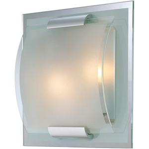 Wall Lamp, Glass Shade, E12 Type B 40wx2