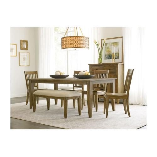 "Gallery - 80"" Large Rectangular Leg Table"