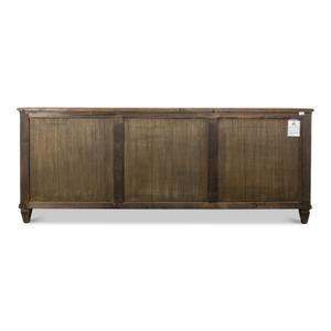 French Country Sideboard, Old Pine Stain