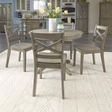 Mountain Lodge Round Dining Table & 4 Chairs