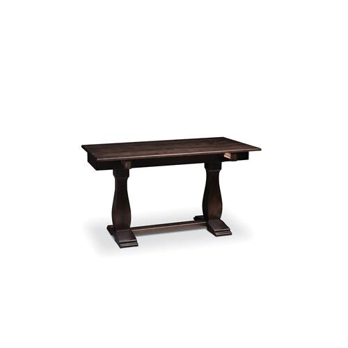 "Avalon Sofa/Dining Table, 54"", Soft Maple #30 Mocha Nut"