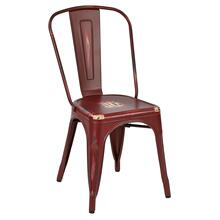 Product Image - Bristow Armless Chair, Antique Red, 2 Pack