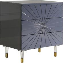 "Starburst Side Table - 24"" W x 16"" D x 26"" H"