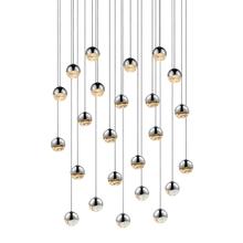 Grapes® 24-Light Round Small LED Pendant