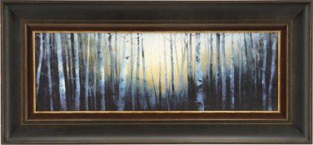 Blue Treescape