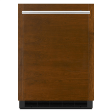 """See Details - Panel-Ready 24"""" Under Counter Solid Door Refrigerator, Left Swing"""