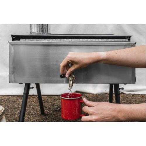 Cylinder Burner Hot Water Tank