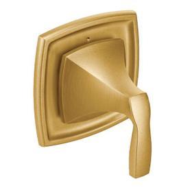 Voss brushed gold transfer valve trim