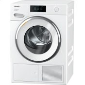 TXR860WP Eco & Steam - T1 Heat-pump tumble dryer with Miele@home and SteamFinish for smart laundry care.