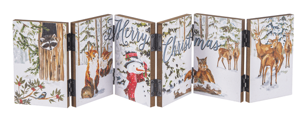 Accordion Signs - 6 Panels - Merry Christmas