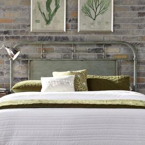 Liberty Furniture Industries - King Metal Headboard - Green