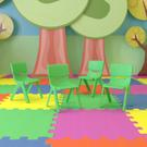 4 Pack Green Plastic Stackable School Chair with 10.5'' Seat Height [4-YU-YCX-003-GREEN-GG] Product Image