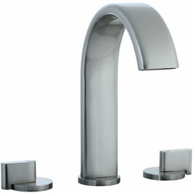 Techno M3 - 3pc Hi-Arch Roman Tub Filler Trim - Brushed Nickel