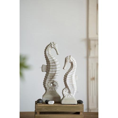Kai White Seahorse,Med