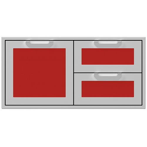 """Hestan - 42"""" Hestan Outdoor Combo Door/Drawer - AGSDR Series - Matador"""