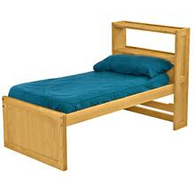 Captain's Bookcase Bed, Twin