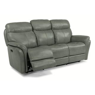 See Details - Zoey Power Reclining Sofa with Power Headrests