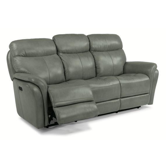 Flexsteel - Zoey Power Reclining Sofa with Power Headrests