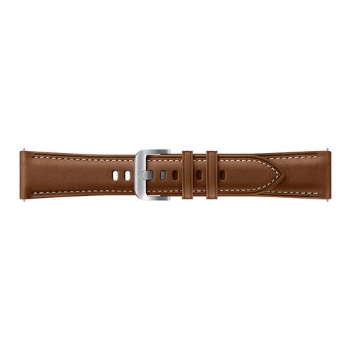 Stitch Leather Band (20MM) Brown
