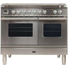 "40"" Inch Stainless Steel Natural Gas Freestanding Range"