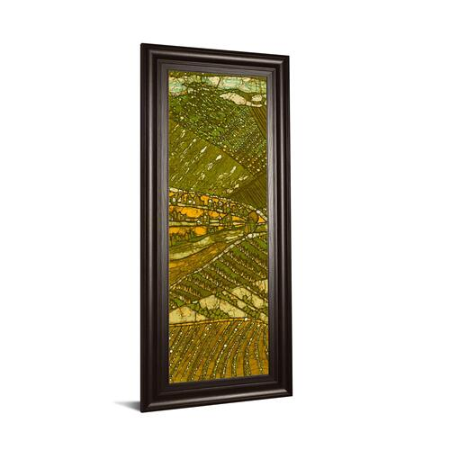 """Vineyard Batik I"" By Andrea Davis Framed Print Wall Art"