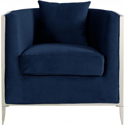 "Circa Velvet Accent Chair - 34"" W x 33"" D x 31"" H"