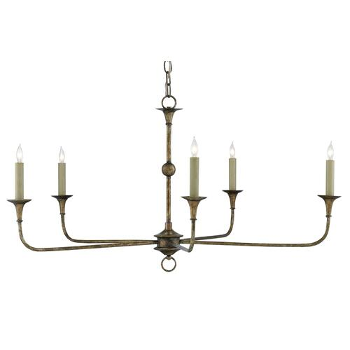 Nottaway Bronze Small Chandelier
