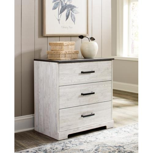 Queen Panel Headboard With Dresser, Chest and 2 Nightstands