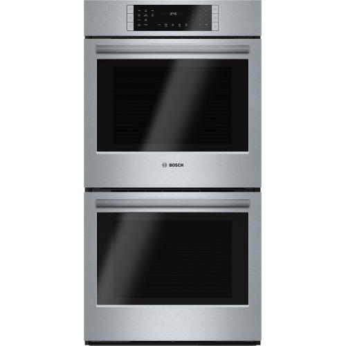 """800 Series, 27"""", Double Wall Oven, SS, EU conv./Thermal, Touch Control """"OUT OF BOX"""""""