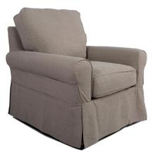 Product Image - Horizon Slipcovered Swivel Rocking Chair - Color 220591