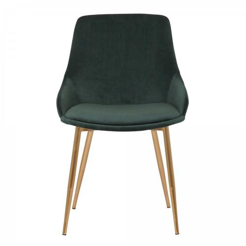 Heidi Green Velvet Dining Accent Chair
