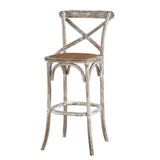See Details - Bennett X-back Stool 30'' (washed White)