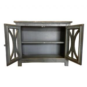 "44"" 2 Door Console in Antique Blue             (MX4419-ABL,52991)"