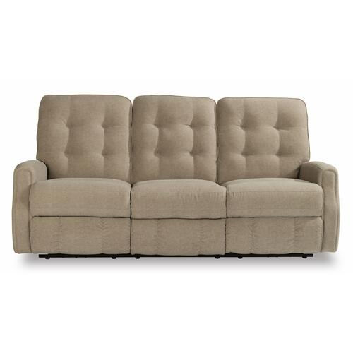 Flexsteel - Devon Power Reclining Sofa with Power Headrests