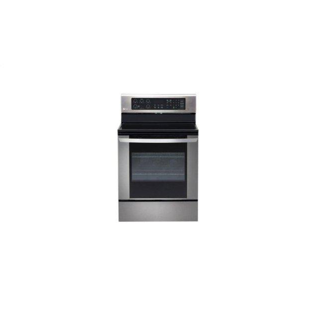 LG Appliances 6.3 cu. ft. Electric Single Oven Range with EasyClean®