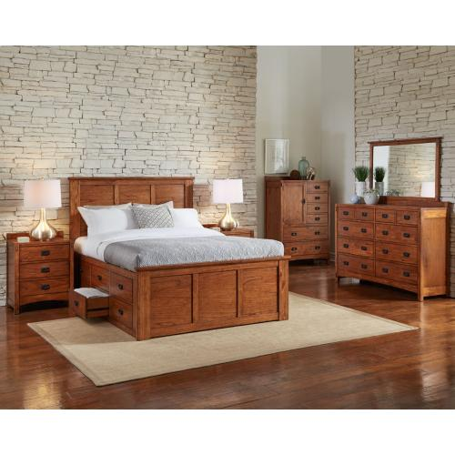 See Details - King Captain Bed